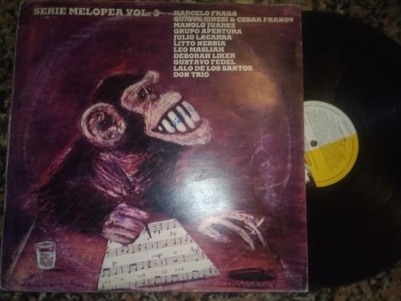 Serie Melopea Vol 3 Vinilo Lp Franov Sinesi Masliah Jazz