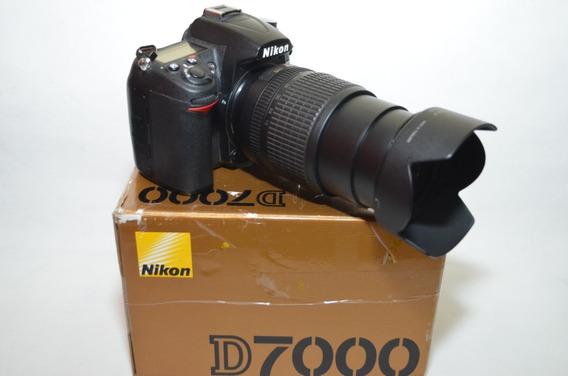 Nikon D7000 + Lente 18-105mm + Lente 50mm 1.8