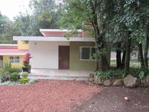 Casa Nueva De Un Nivel En El Bosque- V133