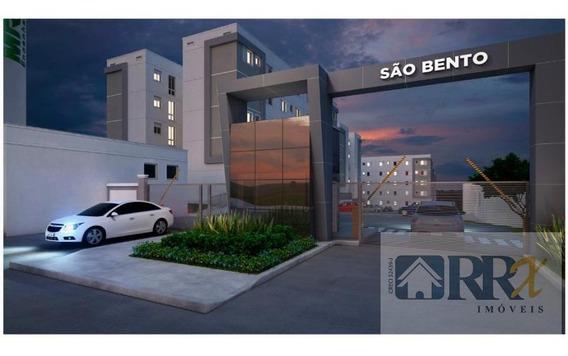 Apartamento/novo Para Venda Em Poá, Vila Perracini, 2 Dormitórios, 1 Banheiro, 1 Vaga - 213