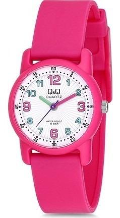 Relógio Infantil Feminino Rosa Prova D