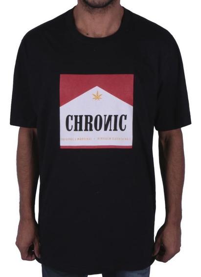 Camiseta Original Chronic Cigarette Preta Envio Imediado