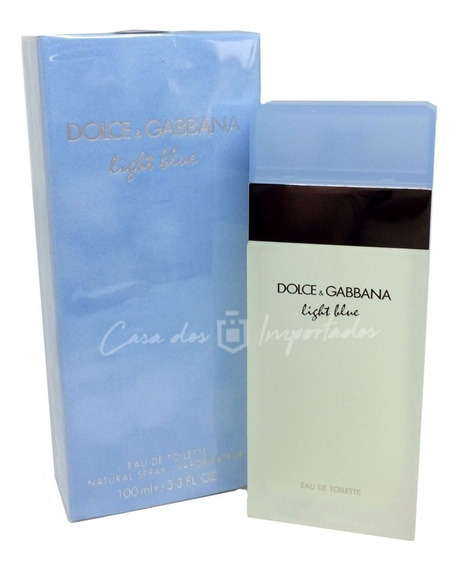 Dolce & Gabbana Light Blue 100ml Feminino + Amostra