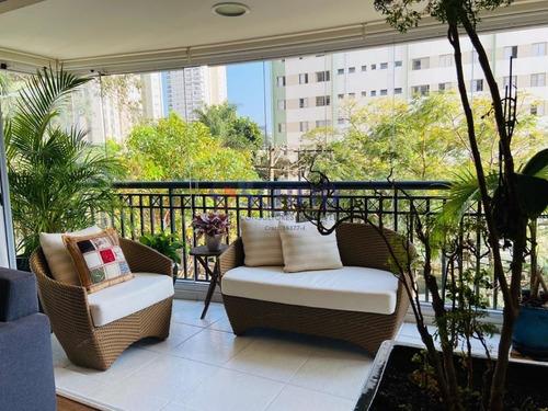 Imagem 1 de 15 de Apartamento 178m A Venda Cidade Monções  - Mr74277