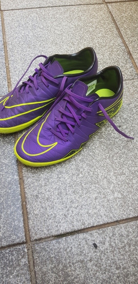 Chuteira Semi-nova Nike Hypervenom Phelon 2 Ic - Futsal