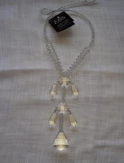 Abraçadeira De Cristal Para Cortina (translúcido) Diamante