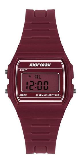 Relógio Unissex Mormaii Maui Vermelho Mojh02bf/8r