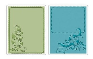 Carpeta De Repujado -embossing Folder- Elegant Vine & Flair