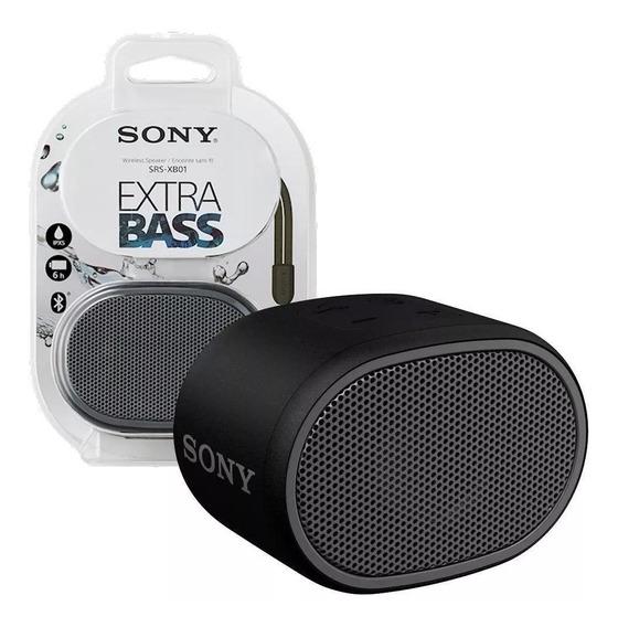 Caixa De Som Sony Jbl Srs-xb01/bc Com Bluetooth Preto