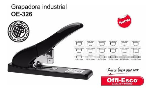 Grapadora Semi Industrial 326 Trabajo Pesado Hasta 140 Hojas