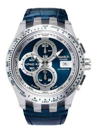 Relógio Swatch Chrono Automático Svgk407 - Nunca Usado Suiço