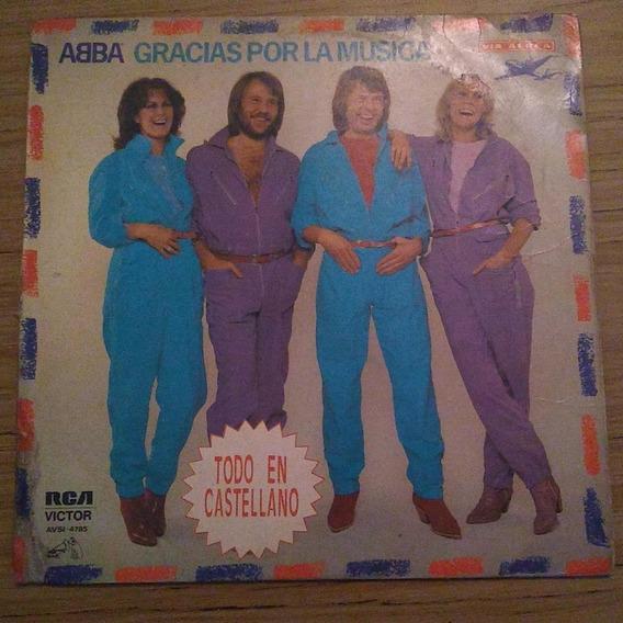 Abba Gracias Por La Musica Disco Vinilo Lp Nacional C Insert