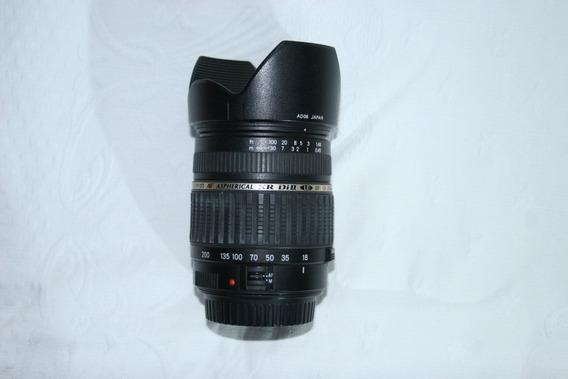 Objetiva Tamron Af 18-200mm F3,5-6,3 P/ Canon