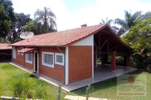 Chácara Com 3 Dormitórios À Venda, 1022 M² Por R$ 600.000,00 - Recanto Maravilha Ii - Boituva/sp - Ch0593