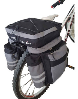 Alforja Monovolumen 70l + Portaequipaje Aluminio Dc Bike