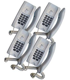Kit Telefone Gondola Para Portaria Lr2065 Br Teclado Lider