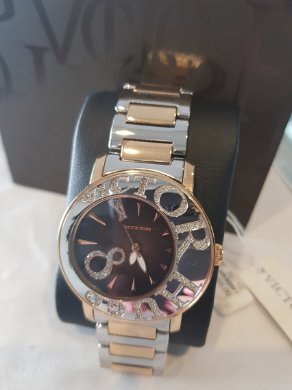 Relógio Feminino Victor Hugo -vh10044lsr/02m