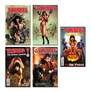 Kit 10 Imãs Revista Vampirella Vampira Sexy Horror Terror