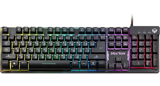 Teclado Retroiluminado Gamer Meetion Chroma Simil Mecanico