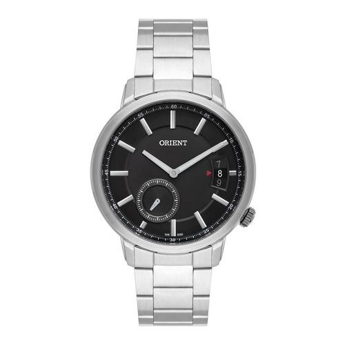 Imagem 1 de 1 de Relógio Orient Masculino Ref: Mbss1352 P1sx Social Prateado