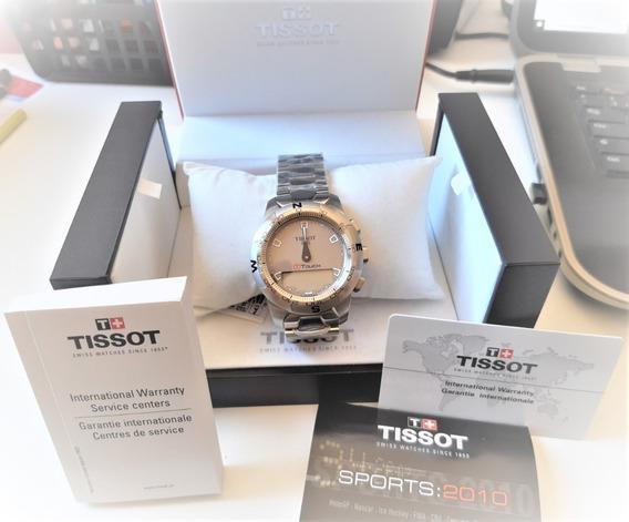 Relógio Tissot Touch Titânio