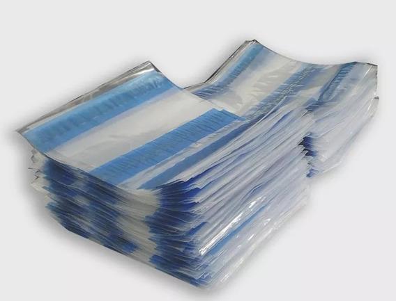 Envelope Plástico Janela Nota Fiscal Danfe 15x13 (500 Pcs)