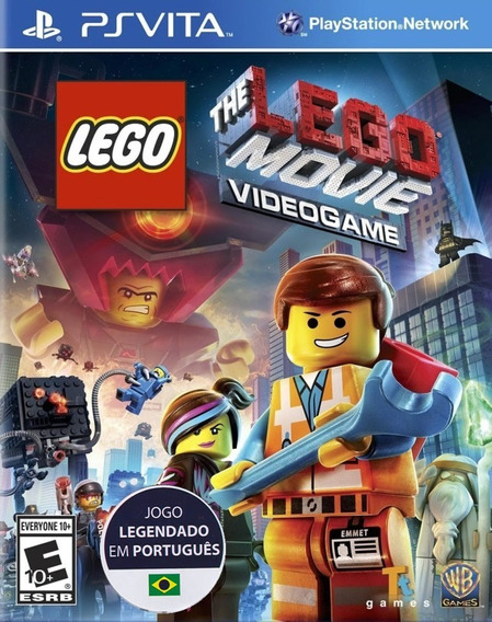 Lego The Movie Videogame - Português - [psvita] Lacrado
