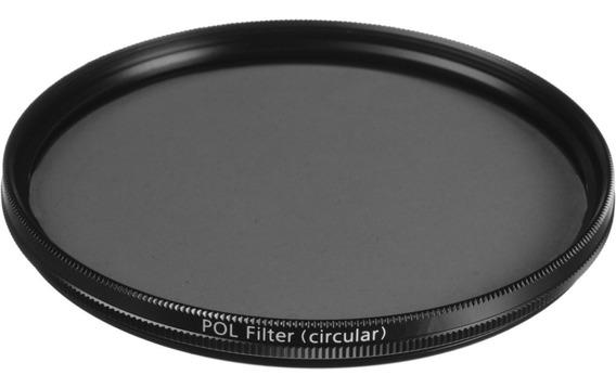 Filtro Plc Polarizador Circular Ø 58mm Para Objetiva Lente