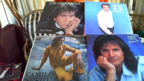 Discos Lp (jose Luis Rodriguez-jose Jose-camilo Sexto-robert