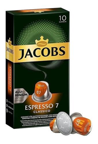 Cápsulas Nespresso Compatibles Café Jacobs Espresso Clásico