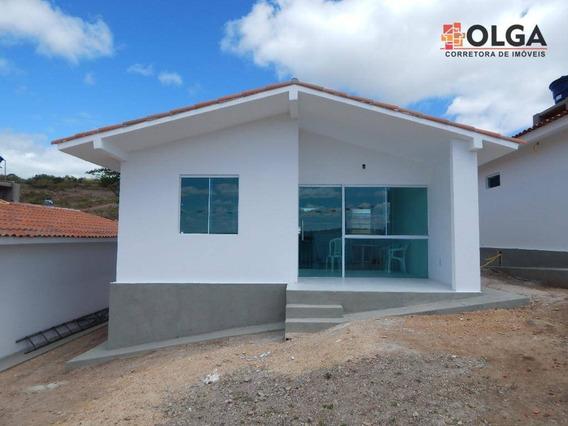 Casa Financiada, 52 M² - Gravatá/pe - Ca0306