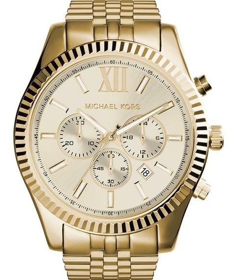 Relógio Michael Kors Masculino Original Garantia Mk8281/1dn