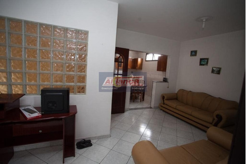 Casa Com 2 Dormitórios Para Alugar, 90 M² - Cidade Jardim Cumbica - Guarulhos/sp - Ai17035