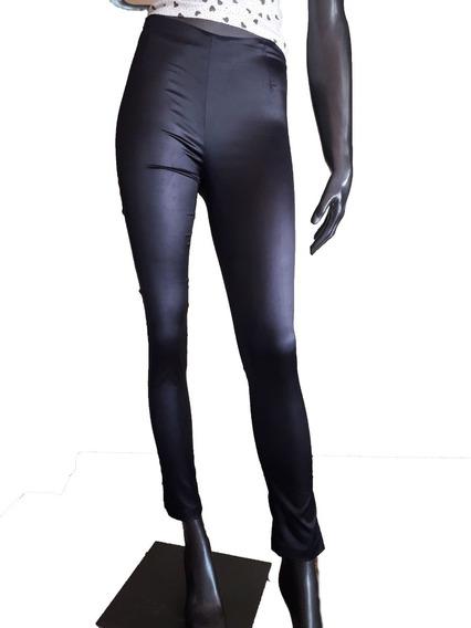 Pantalon Tiro Alto Negro De La Ostia - Bellisimo !