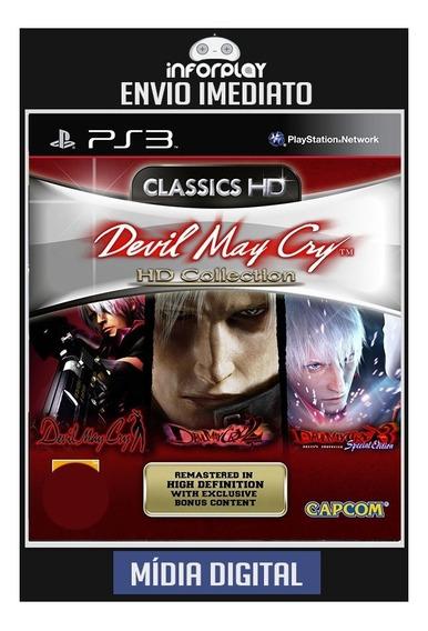 Devil May Cry Hd Collection Ps3 Psn Envio Imediato