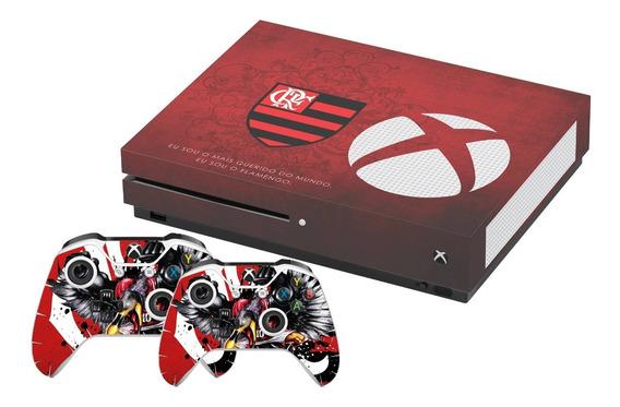 Skin Xbox One S Flamengo