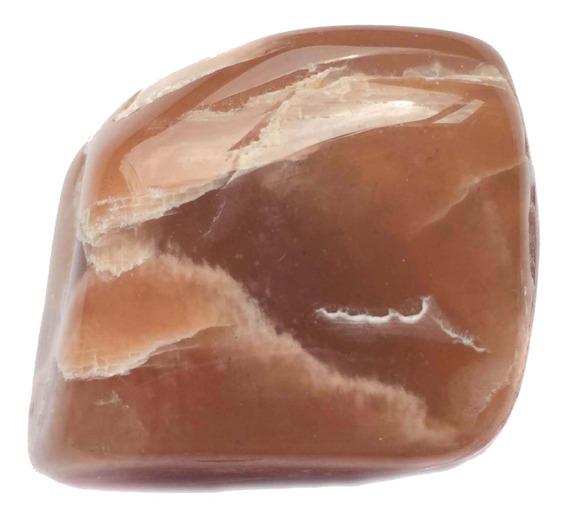 Pedra Da Lua Verdadeira Marrom Natural Intuição Cristal