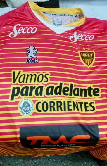 Nueva Camiseta Alternativa Boca Unidos Lyon Original