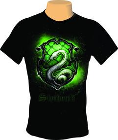 Camiseta, Camisa Harry Potter Sonserina Oficial Frete Grátis