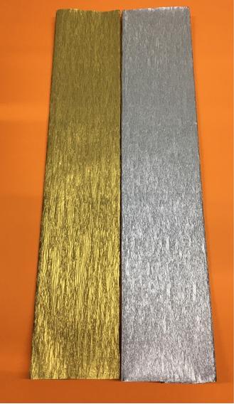 Papel Crepe Metalizado