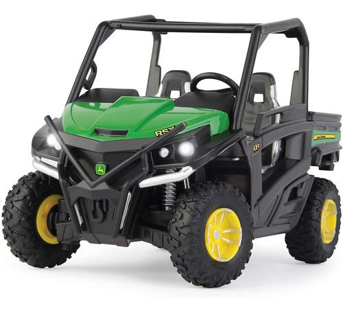Tomy John Deere Big Farm Scale Luces Y Sonidos Gator Rsx 860