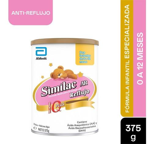 Formula Infantil Similac Ar Antireflujo Lata X 375gr
