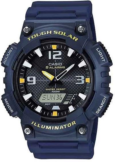 Relógio Casio Masculino Aq-s810w-2avdf *tough Solar