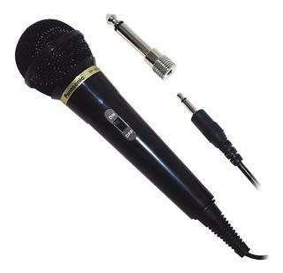 Micrófono Dinámico Undireccional Karaoke Panasonic Rp-vk21