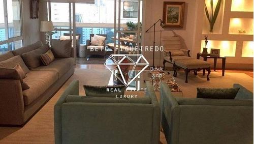Imagem 1 de 15 de Apartamento - Moema - Ref: 4355 - V-maisonksuj