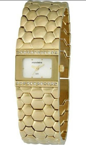 Relógio Feminino Tipo Pulseira Mondaine 94320lpmndm3 Analóg
