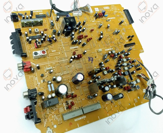 Mhc-dx5 Pf-pl 1-676-194-15 Placa Lateral Som Sony