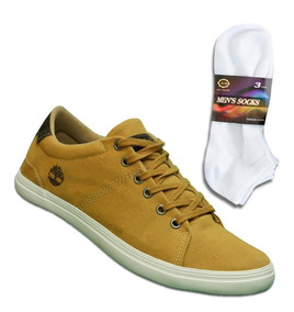 Tênis Masculino Timberland Field Dover - Caramelo