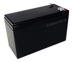 Bateria Selada Recarregável 12v 7a P/ Centrais Alarme Choque
