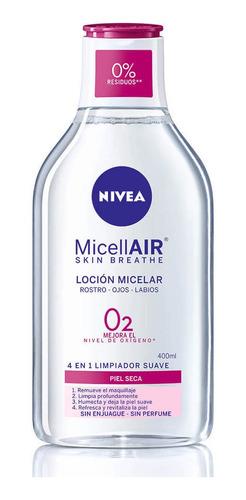 Nivea Agua Micelar Piel Seca X400